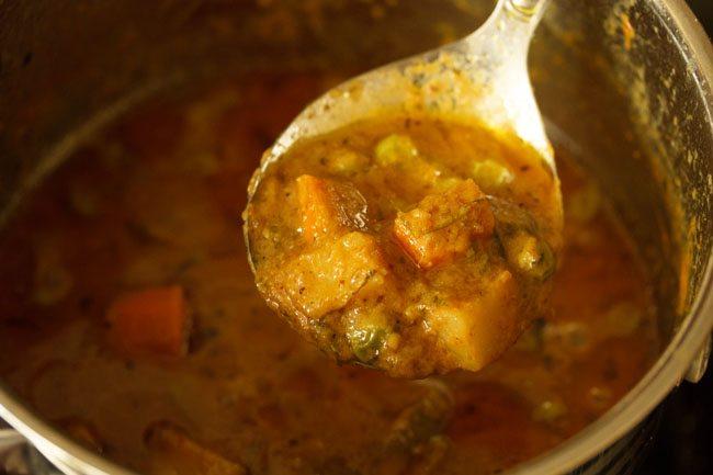 veg masala recipe