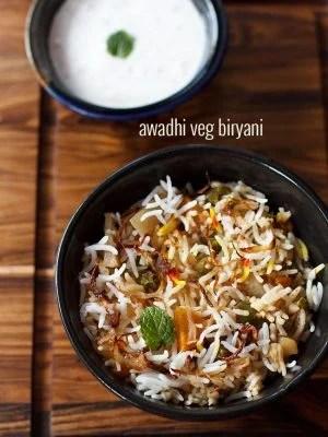 awadhi biryani recipe