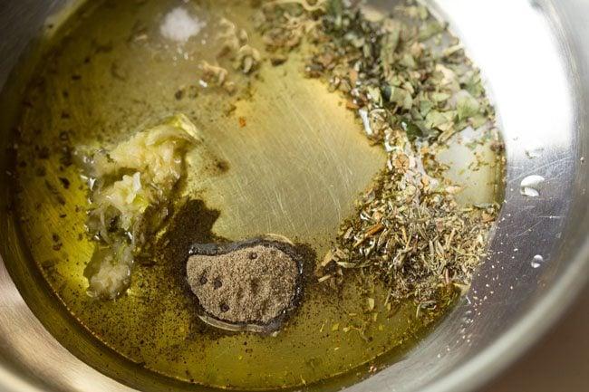 ingredients to make baked potato wedges recipe
