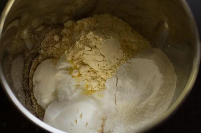 curd to make instant bread dosa recipe