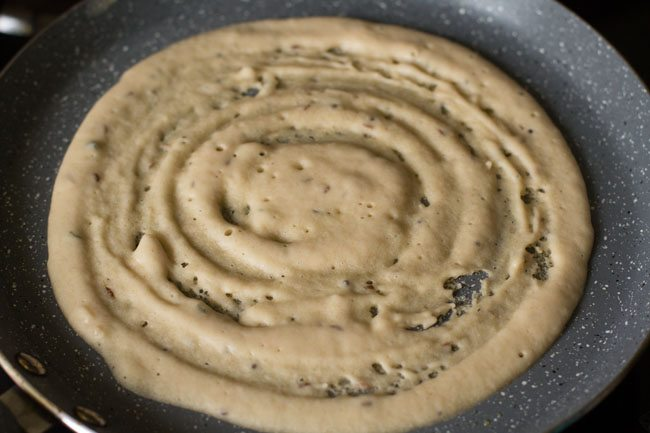preparing bread dosa recipe