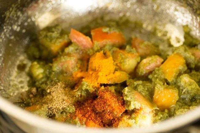 spices for making Dindigul biryani recipe