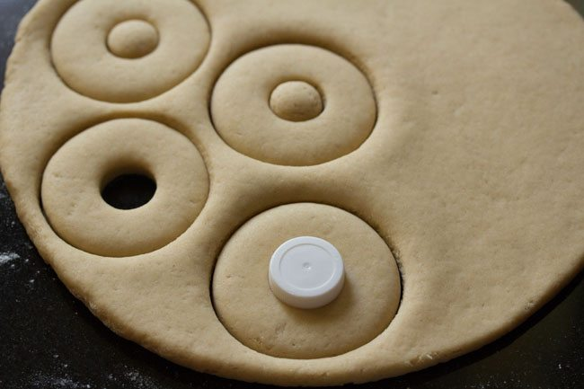 making eggless whole wheat doughnut recipe