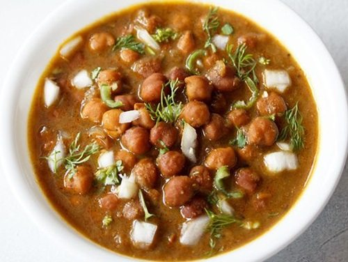 kala chana ghugni recipe