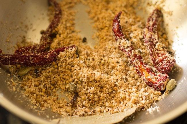 making paneer Kolhapuri recipe
