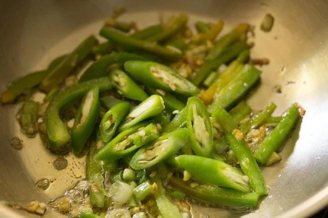 making chilli paneer schezwan recipe