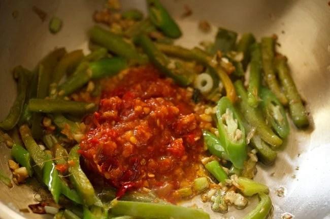schezwan sauce for schezwan paneer recipe