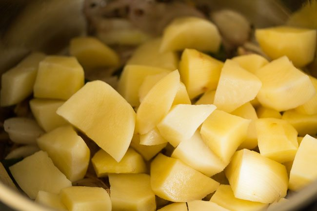 potatoes for making Kerala style potato stew recipe