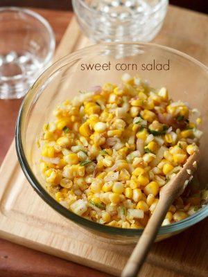 sweet corn recipes