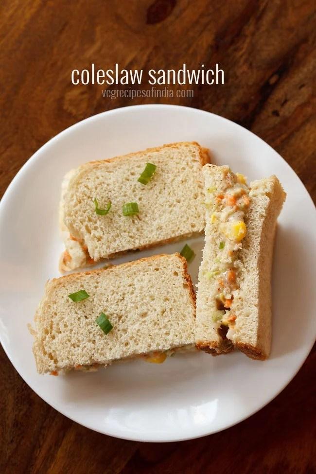coleslaw sandwich