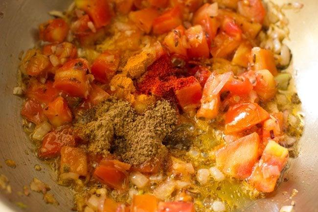 spices for preparing veg kathi rolls recipe