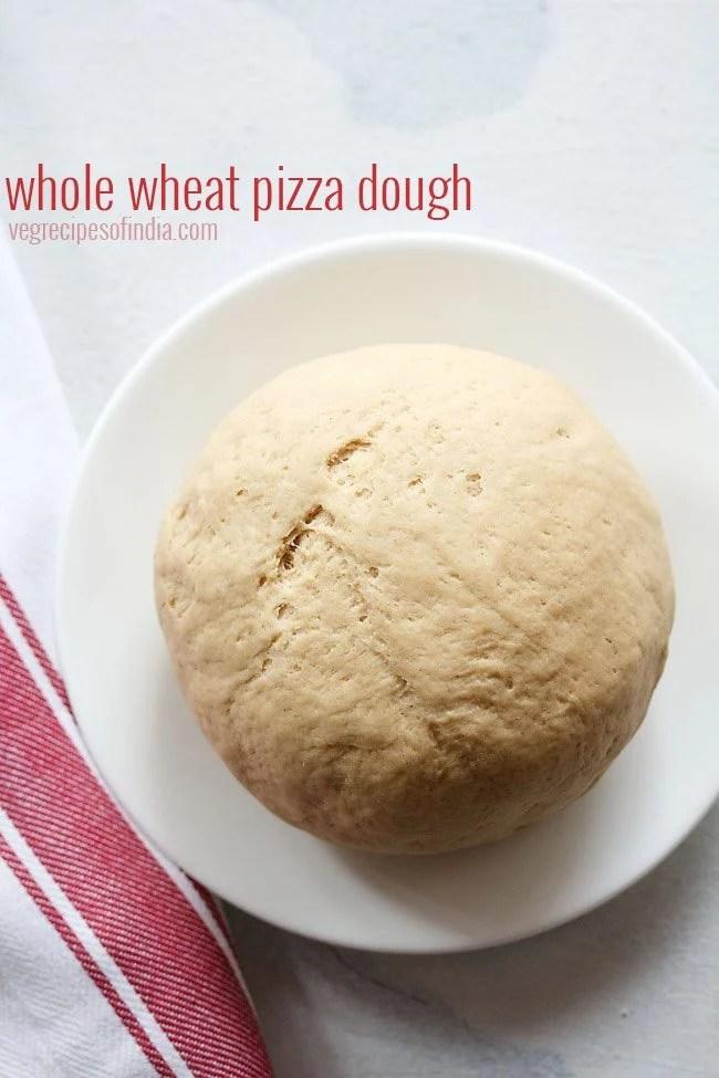 whole wheat pizza dough recipe