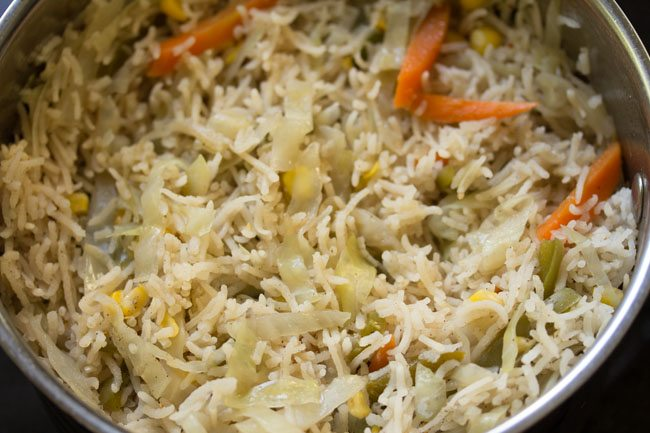 Chinese style 5 spice rice recipe