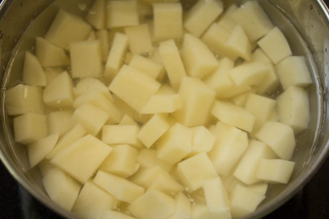 potatoes for making aloo fry recipe