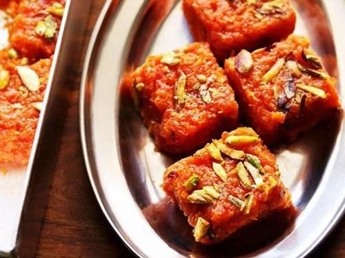 carrot barfi recipe