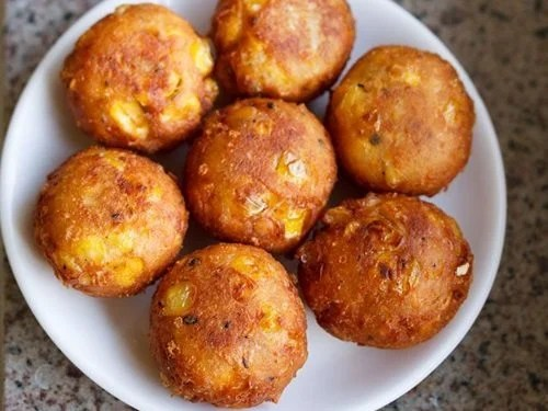 corn cheese balls recipe