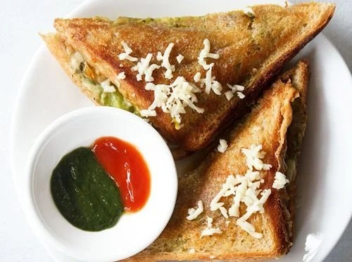 cheese masala toast sandwich recipe