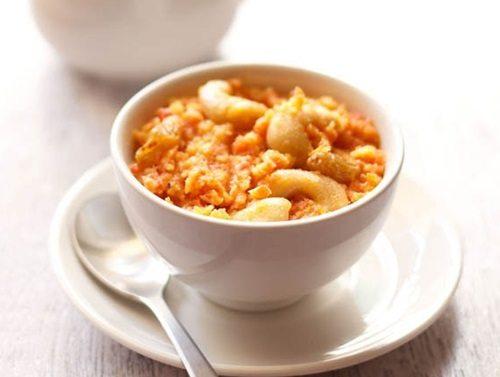 vegan carrot halwa recipe