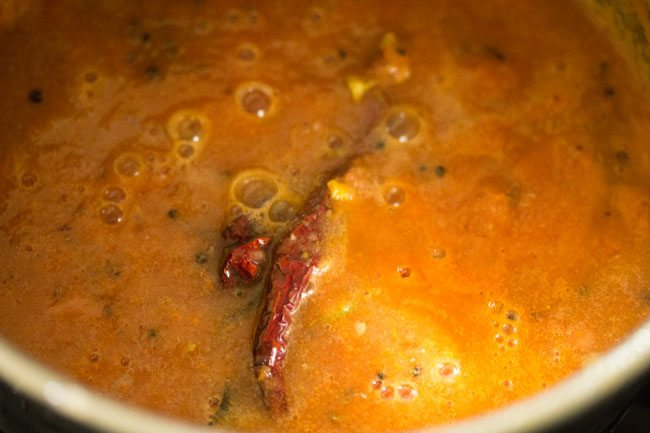 making thakkali rasam recipe