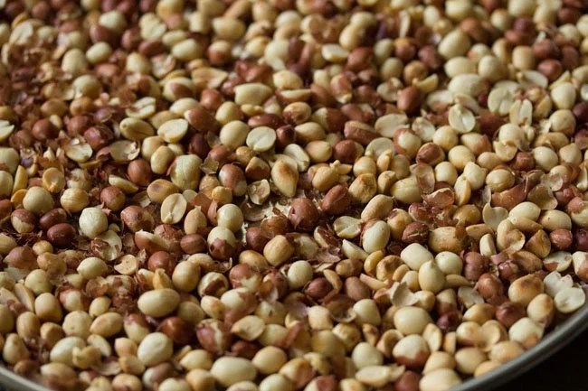 peanuts for preparing peanut chikki recipe
