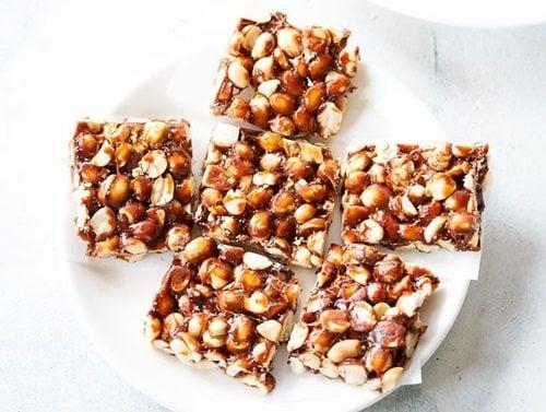 peanut chikki recipe