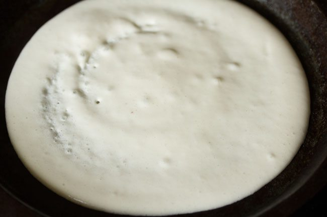 batter for preparing masala uttapam recipe