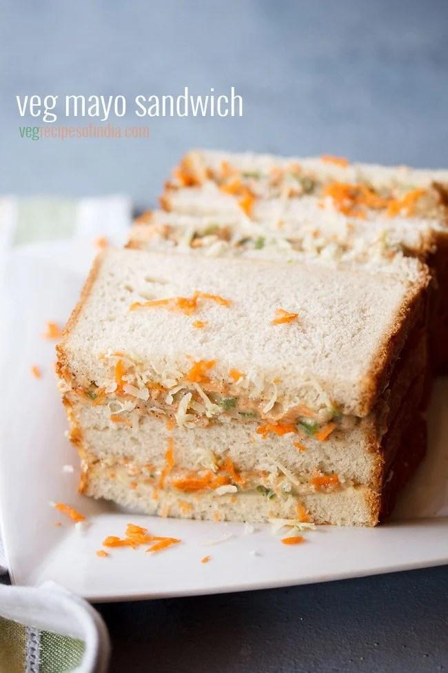 mayonnaise sandwich, mayo sandwich recipe