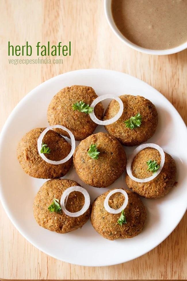 herb falafel recipe