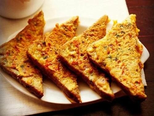 besan toast recipe