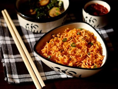 schezwan fried rice recipe