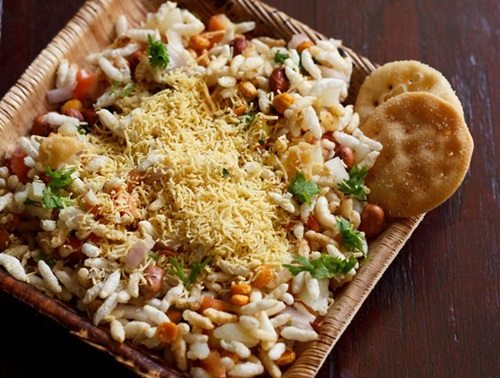 sookha bhel puri recipe