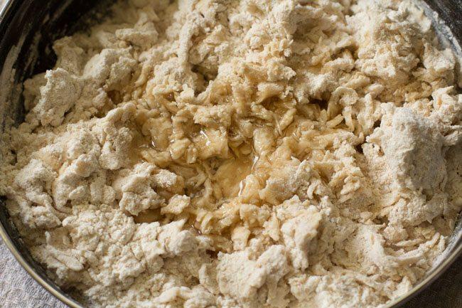 making cheese garlic naan recipe