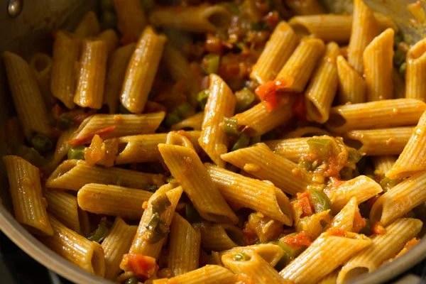 masala pasta recipe
