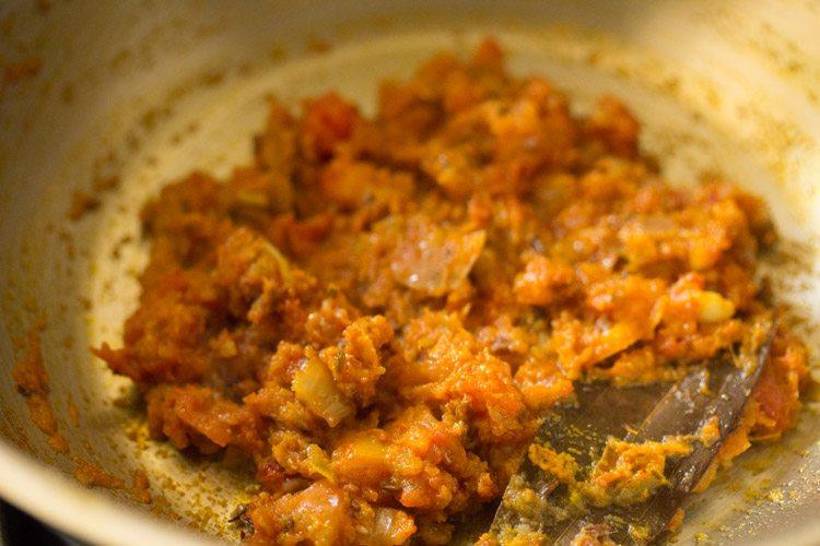 preparing matar ka nimona recipe