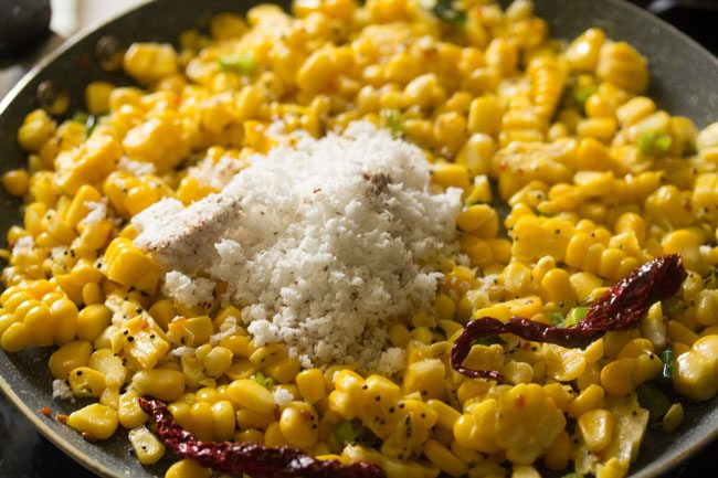 sweet corn sundal recipe