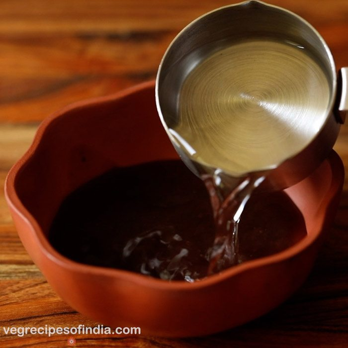making Ugadi pachadi recipe