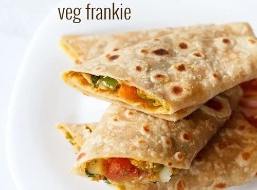 veg frankie recipe