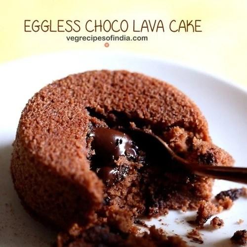 eggless choco lava cake recipe