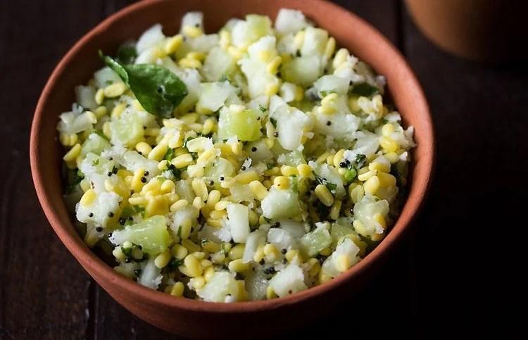 Kosambari Recipe Kosambari Salad Recipe Moong Dal Kosambari