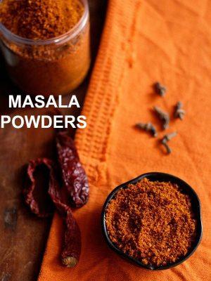 masala powder recipes, spice powder recipes