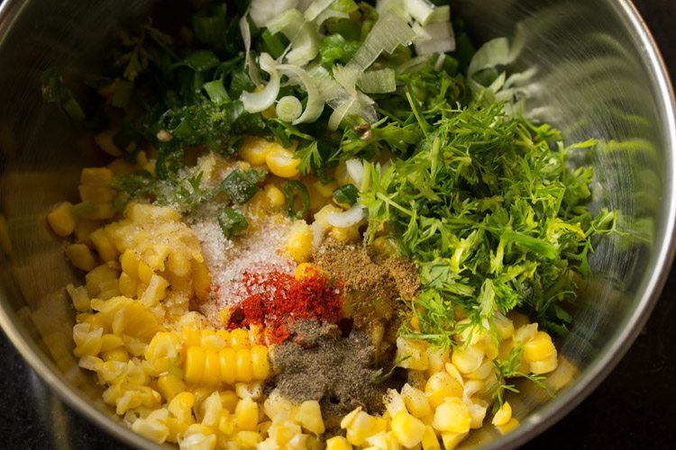 making sweet corn salsa recipe