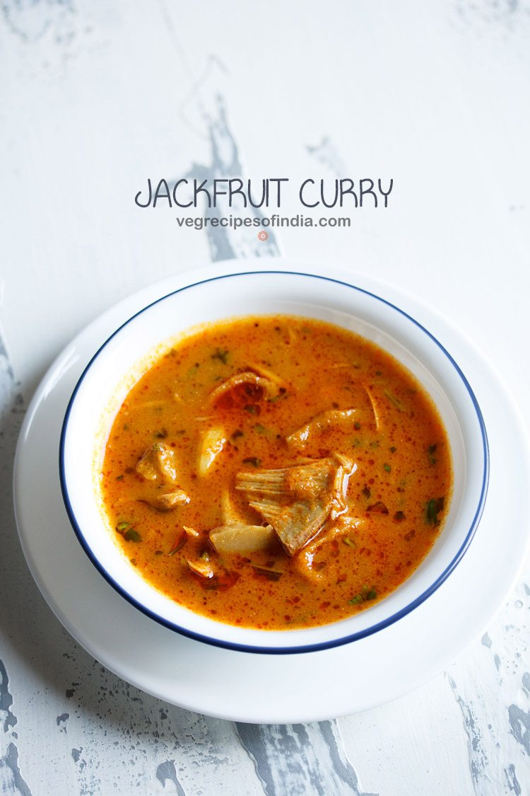 kathal recipe, raw jackfruit curry recipe, kathal curry recipe