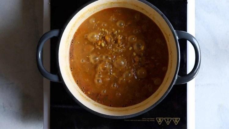 making misal pav recipe