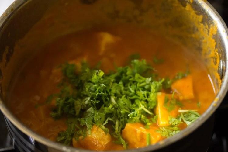 aloo paneer recipe, potato paneer curry recipe