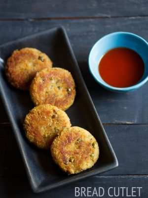 bread cutlet, bread cutlet recipe