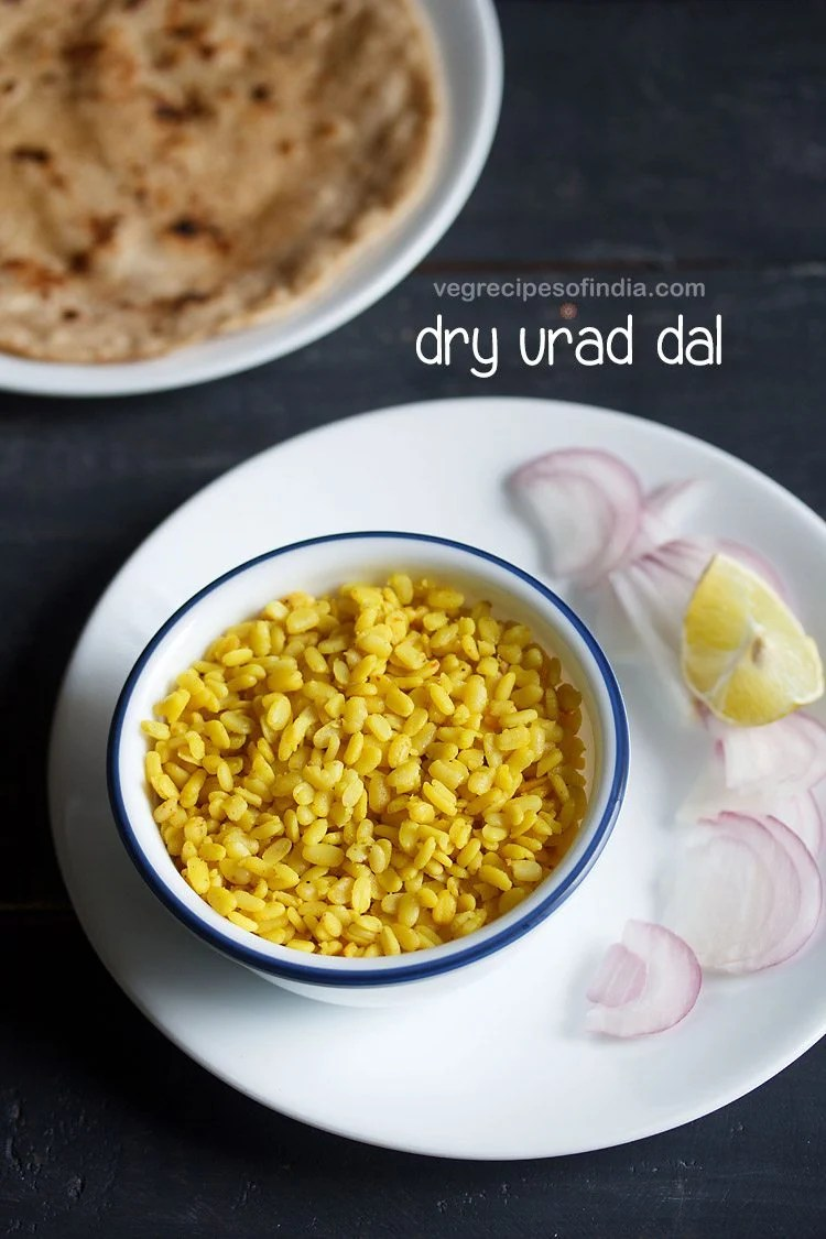 dry urad dal recipe