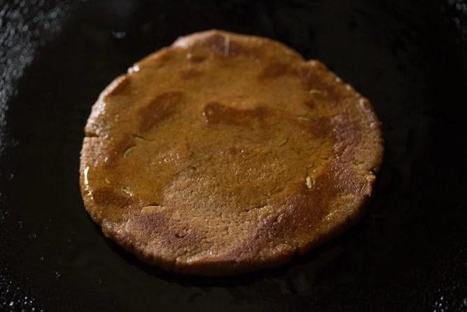 making jaggery roti recipe