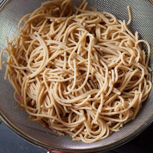 non sticky boiled noodles recipe
