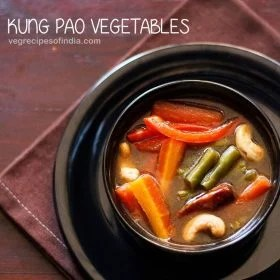 kung pao vegetables recipe