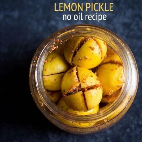 nimbu ka achaar recipe, tangy lemon pickle recipe